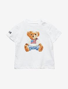 Polo Bear Cotton Jersey Tee - kortærmede - white