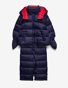 SNOWSUIT-OUTERWEAR-BUNTING - vinteroverall - french navy
