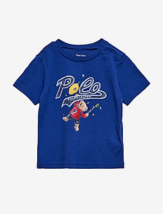Honey Bear Cotton Jersey Tee - RUGBY ROYAL