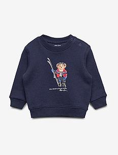 Ski Bear Fleece Sweatshirt - FRENCH NAVY