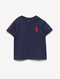 Big Pony Cotton Jersey Tee - NEWPORT NAVY