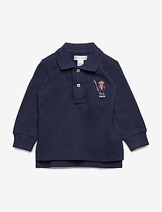 LS KC-TOPS-KNIT - FRENCH NAVY