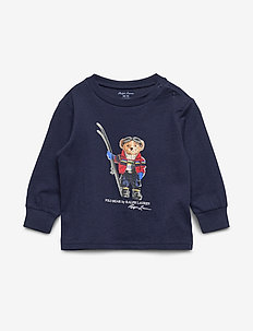 Parka Bear Cotton Jersey Tee - FRENCH NAVY