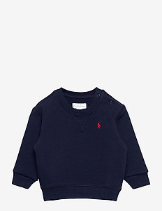 Cotton-Blend-Fleece Sweatshirt - sweat-shirt - cruise navy