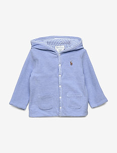 Reversible Knit Jacket - HARBOR ISLAND BLU