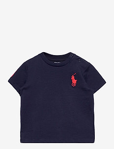 Big Pony Cotton Jersey Tee - korte mouwen - french navy