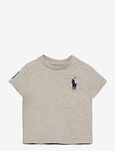 Big Pony Cotton Jersey Tee - kortærmede - new grey heather