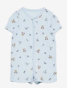 Polo Bear Cotton Interlock Shortall - kortærmede - blue multi
