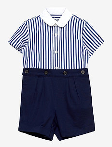 Striped Shirt & Short Set - jeu de 2 pièces - french navy multi