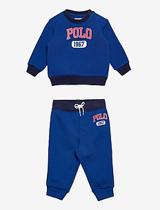 Logo Fleece Sweatshirt & Pant Set - 2-delige sets - sapphire star