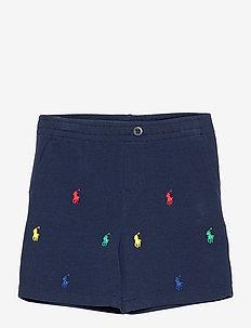 Polo Prepster Cotton Mesh Short - shorts - newport navy