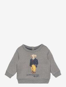 Polo Bear Fleece Sweatshirt - manches longues - classic grey heat