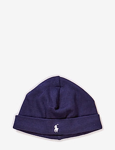 Cotton Interlock Hat - mützen - french navy