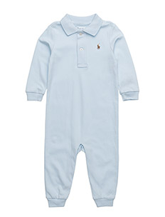 POLO COVRALL-ONE PIECE-COVERALL - BERYL BLUE
