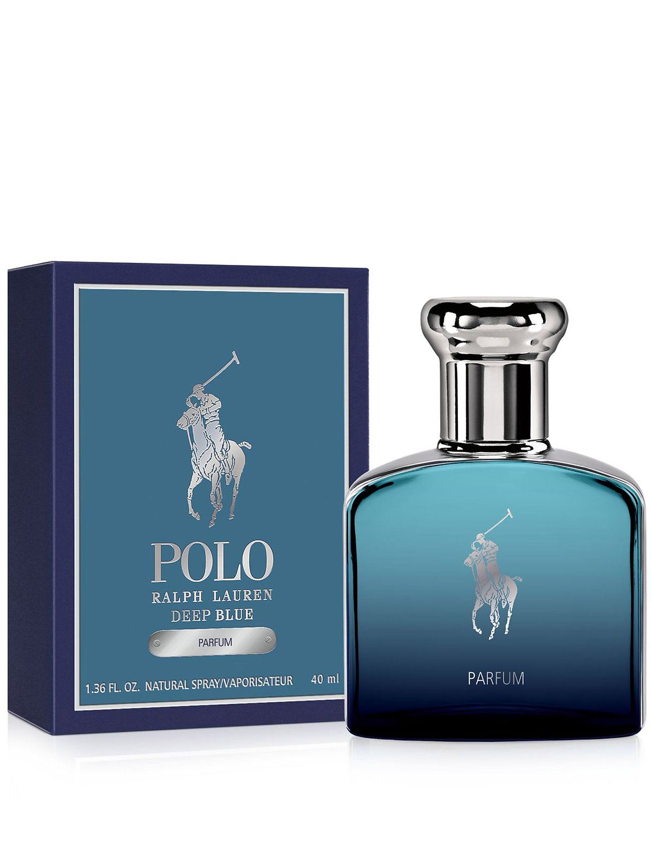 Ralph Lauren - Fragrance - Polo Ralph Lauren Deep Blue Parfum - eau de parfum - clear - 1