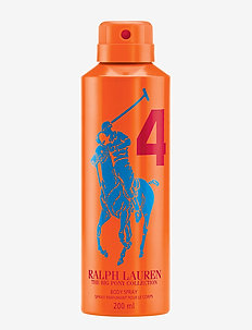 Big Pony Men Orange Body Spray 200 ml - CLEAR