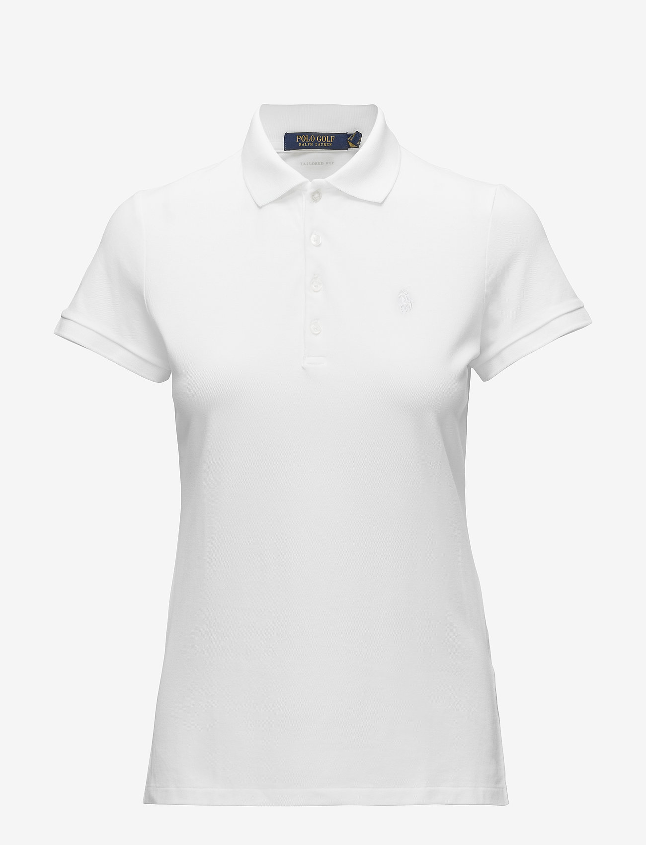 Ralph Lauren Golf - Tailored Fit Piqué Golf Polo - poloer - pure white - 0