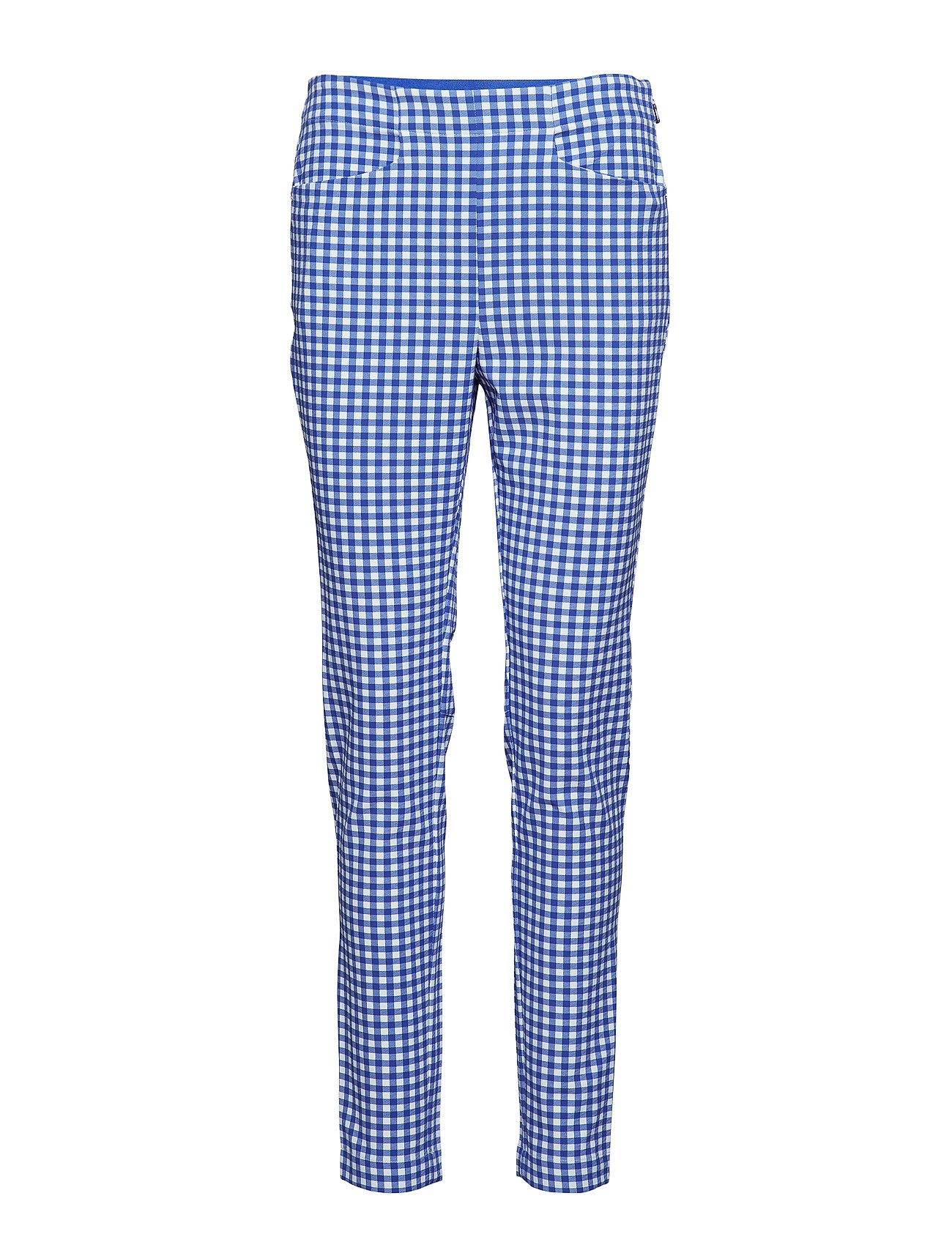 Ralph Lauren Golf Gingham Skinny Golf Pant - MAIDSTONE BLUE GI