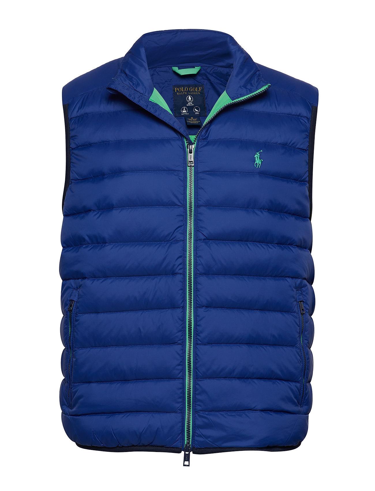 Ralph Lauren Golf Packable Down Vest - SPORTING ROYAL