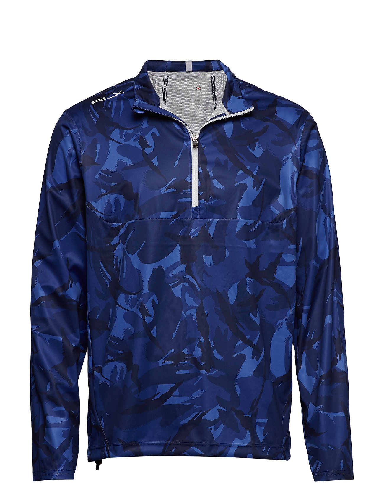 Ralph Lauren Golf Paneled Interlock Golf Jacket - BLUE ELMWOOD CAMO