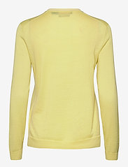 Ralph Lauren Golf - Merino Wool V-Neck Golf Sweater - trøjer - bristol yellow/pure white - 1