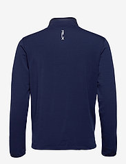 Ralph Lauren Golf - RECYCLED PERF WOOL-LS FZ MOCKNECK M - golf jackets - french navy - 1