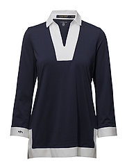 Jersey Tunic Top - FRENCH NAVY