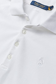 Ralph Lauren Golf - Tailored Fit Piqué Golf Polo - poloer - pure white - 2
