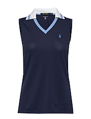 Tailored Fit Golf Polo Shirt - FRENCH NAVY
