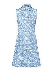Print Wicking Sleeveless Dress - ELEPHANT PALM