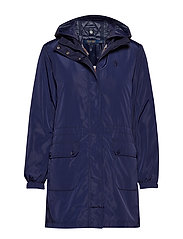 ANORAK JCKT-QUILTED-JACKET - FRENCH NAVY