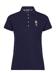 Tailored Fit Bear Golf Polo - FRENCH NAVY
