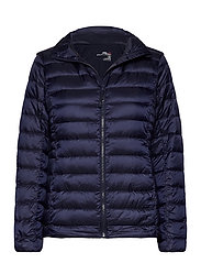 Down-Filled Packable Golf Jacket - FRENCH NAVY