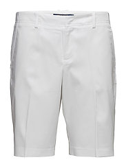 STRETCH COTTON SHORT - PURE WHITE