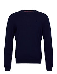 Washable Merino Wool Sweater - FRENCH NAVY