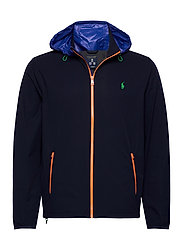 Packable Hooded Jacket - FRENCH NAVY