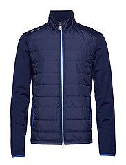 Stretch Wool Golf Jacket - FRENCH NAVY