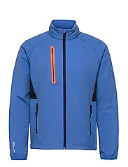 STRETCH DWR-PAR WINDBREAKER - COLBY BLUE