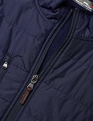 Ralph Lauren Golf - RECYCLED PERF WOOL-LS FZ MOCKNECK M - golf jackets - french navy - 2