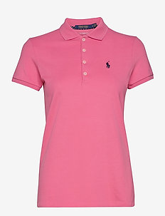 Tailored Fit Piqué Golf Polo - polos - antique rose