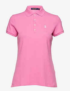 Tailored Fit Golf Polo Shirt - MAUI PINK