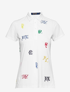 Embroidered Logo Golf Polo - RL MONOGRAMS