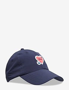 Heart-Patch Golf Cap - FRENCH NAVY
