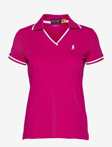 Tailored Fit Cricket Polo Shirt - koszulki polo - aruba pink/pure w
