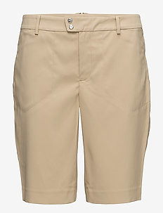 Stretch Satin Short - polo tan