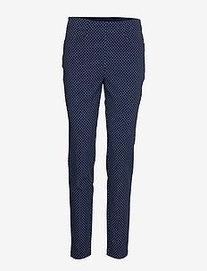 PRNT EGL PNT-ATHLETIC-PANT - sports pants - navy dot