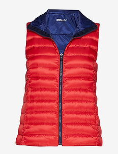 Reversible Down Golf Vest - SPORTING RYL/ DEE
