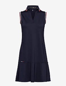S/L DRESS-SLEEVELESS-CASUAL DRESS - FRENCH NAVY