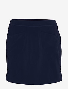 Perforated Stretch Golf Skort - FRENCH NAVY
