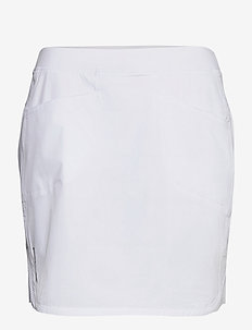 Perforated Stretch Golf Skort - sports skirts - pure white